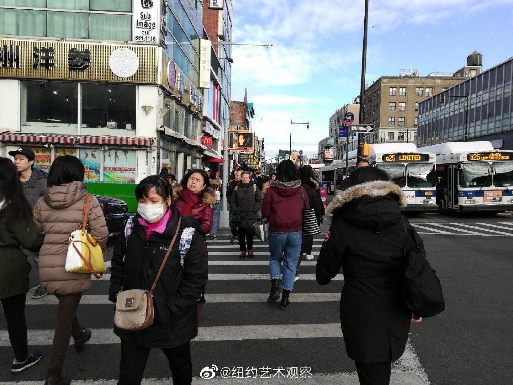 纽约抗疫前线,华人严阵以待_图1-4
