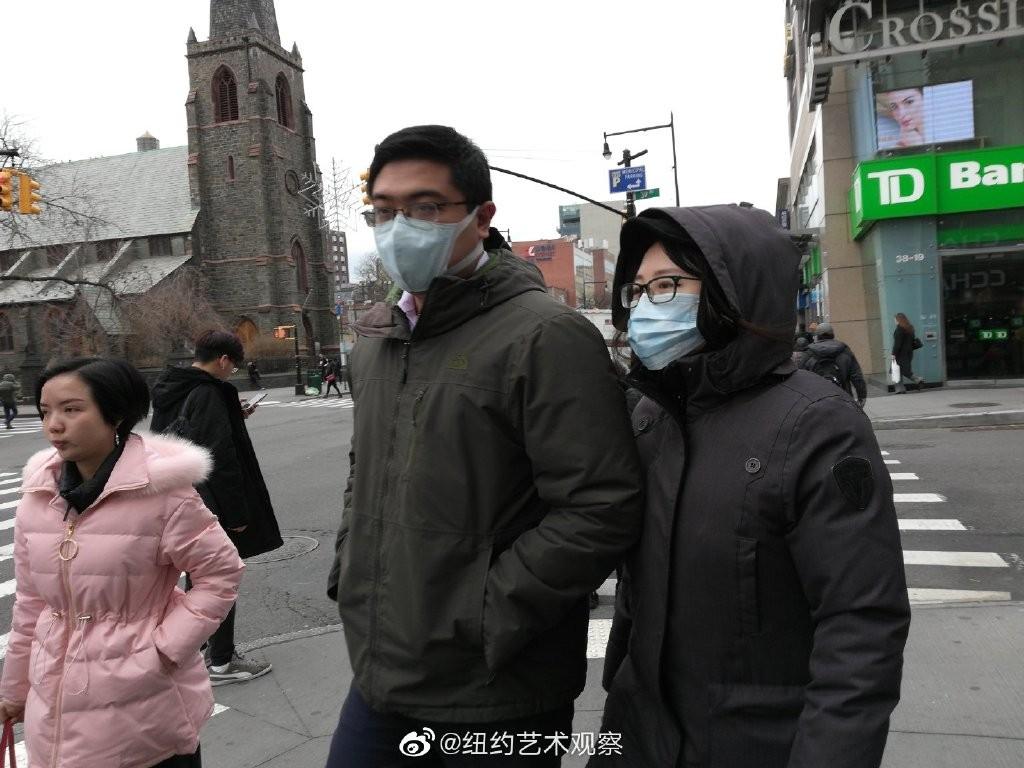 纽约抗疫前线,华人严阵以待_图1-7