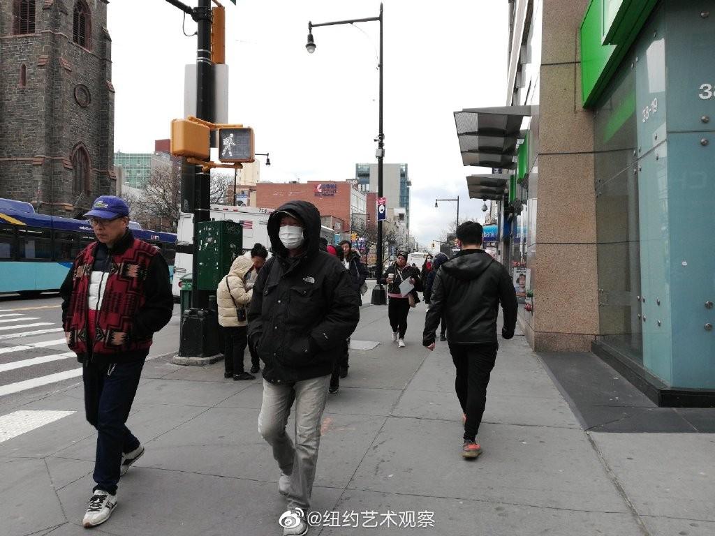 纽约抗疫前线,华人严阵以待_图1-8