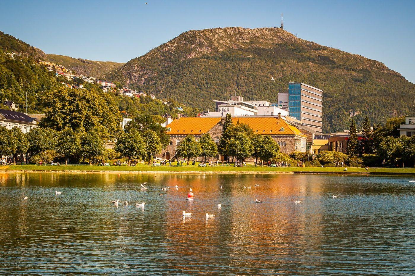 挪威卑尔根市(Bergen),老城新说_图1-7