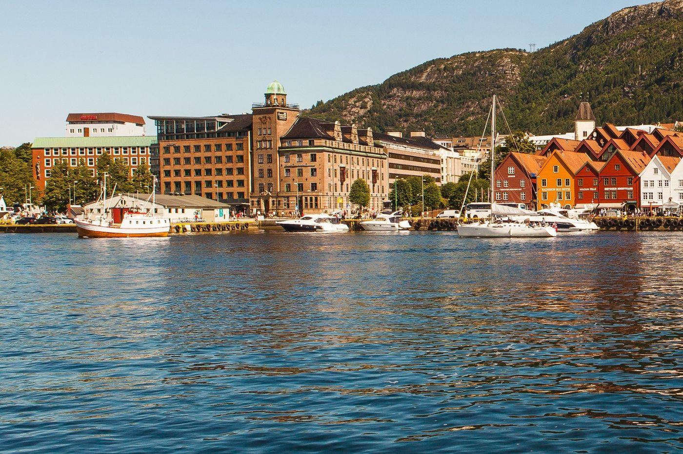挪威卑尔根市(Bergen),老城新说_图1-8