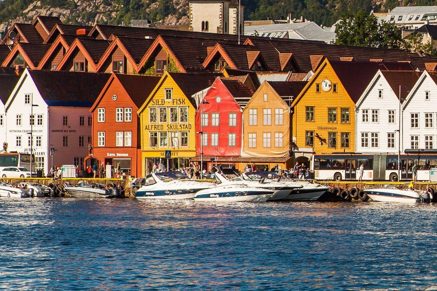 挪威卑尔根市(Bergen),老城新说_图1-6