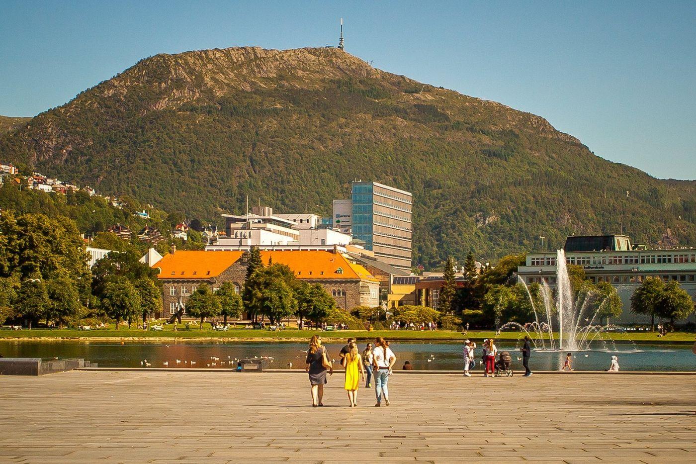 挪威卑尔根市(Bergen),老城新说_图1-2