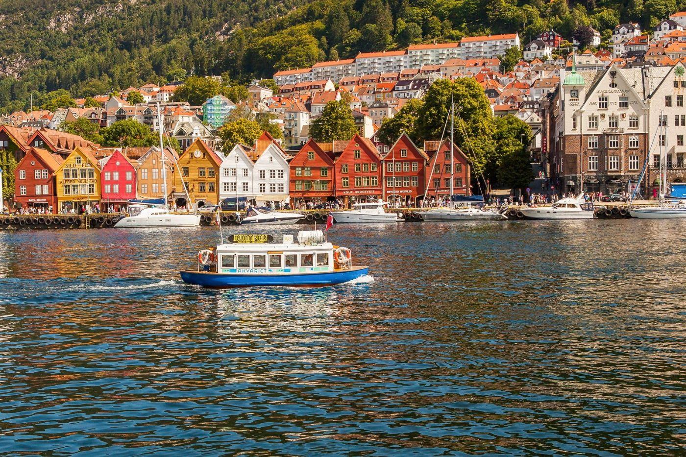 挪威卑尔根市(Bergen),老城新说_图1-5