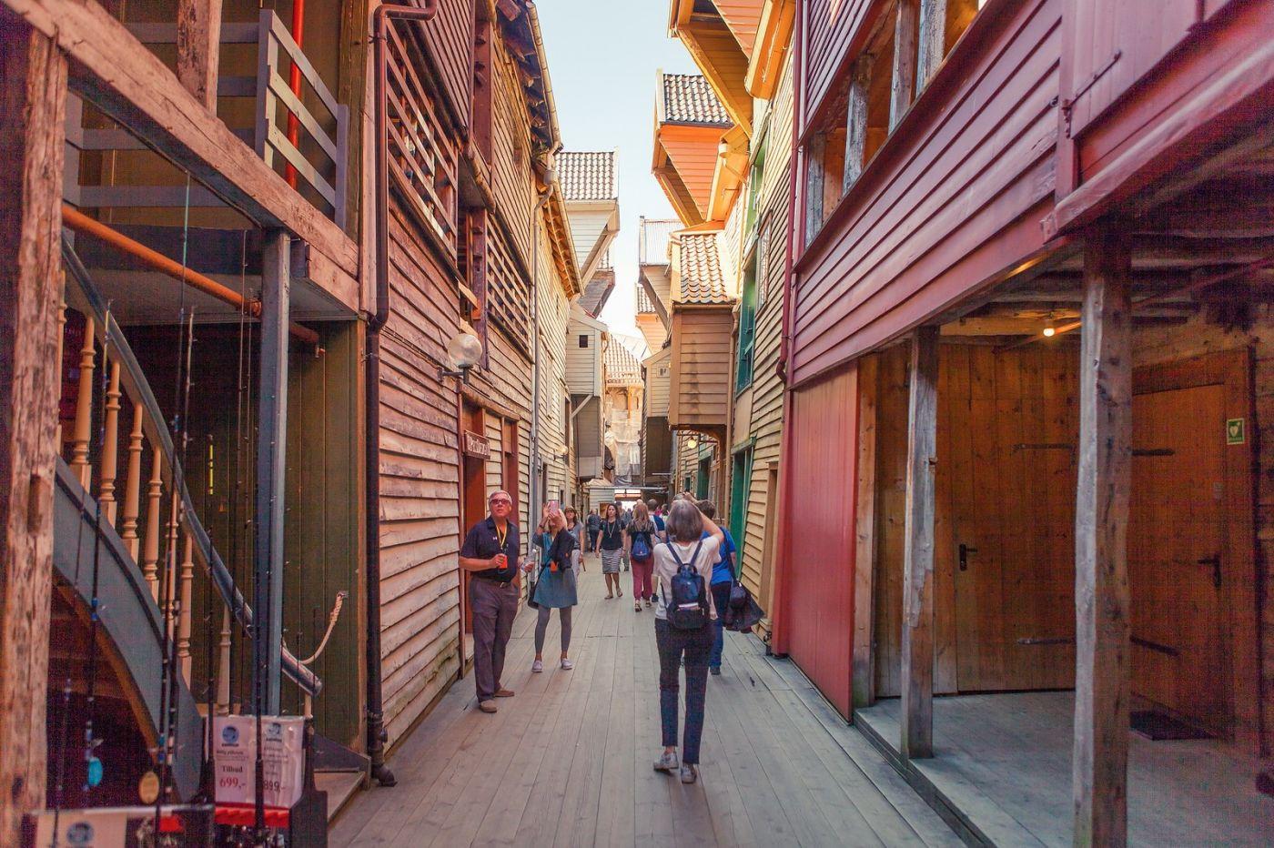 挪威卑尔根市(Bergen),老城新说_图1-4