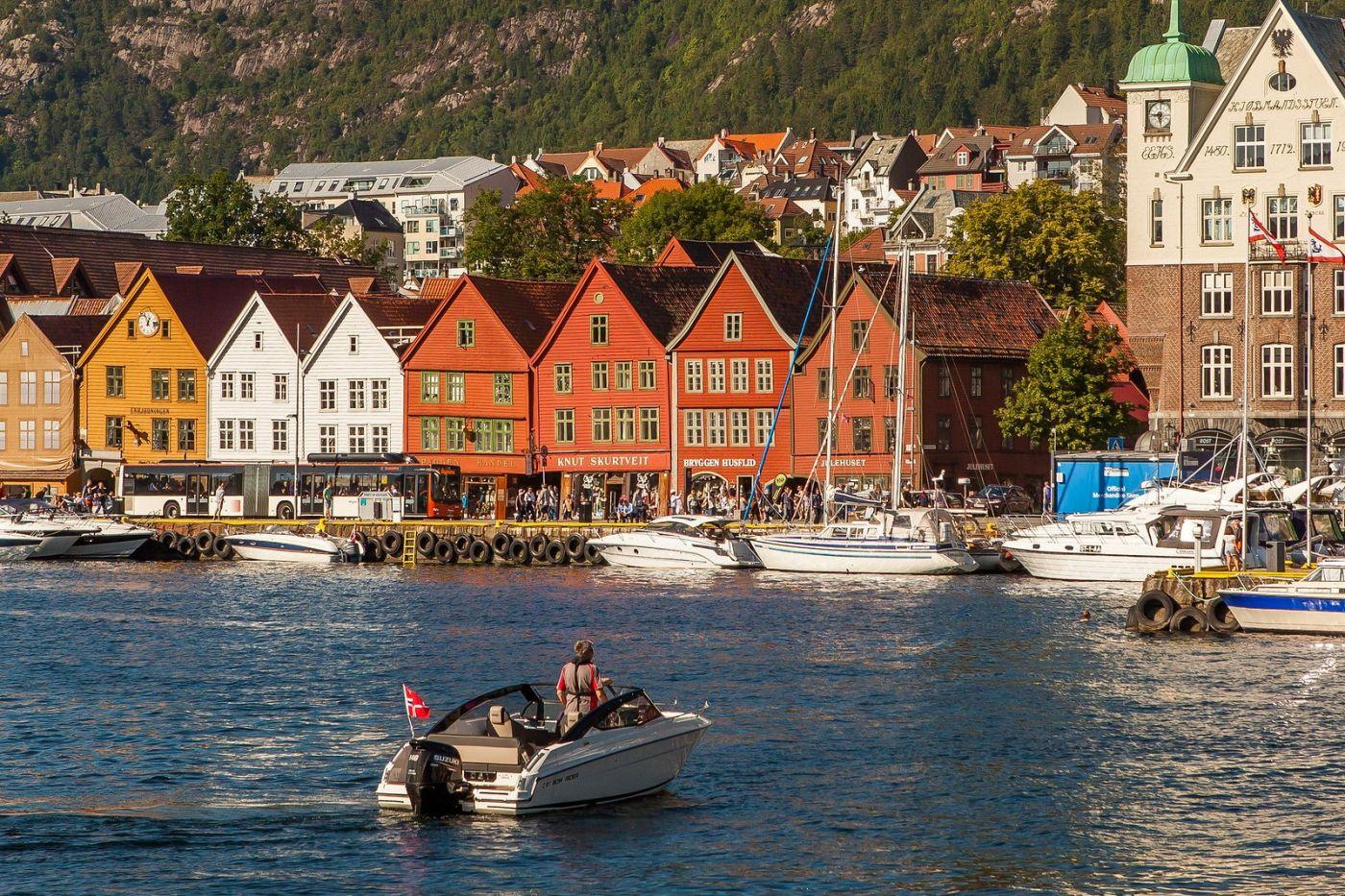 挪威卑尔根市(Bergen),老城新说_图1-9