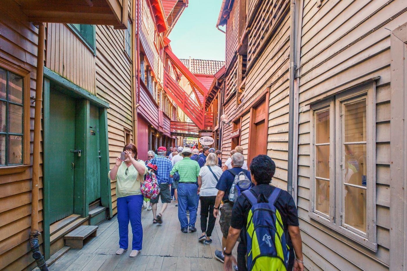 挪威卑尔根市(Bergen),老城新说_图1-20