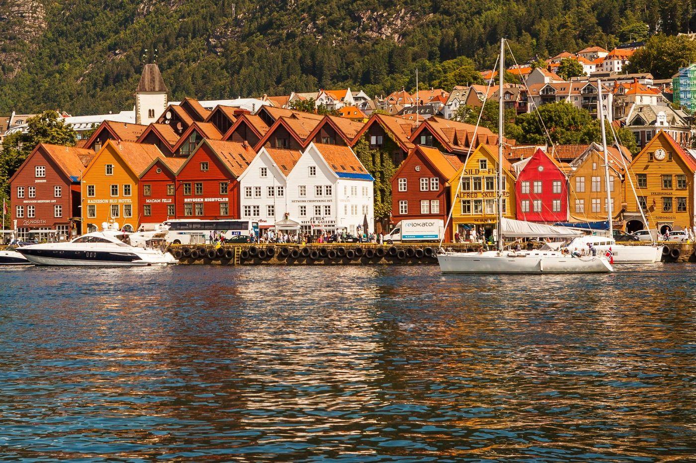 挪威卑尔根市(Bergen),老城新说_图1-22