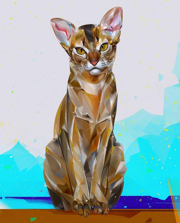 Denis Gonchar 的绘画作品_图1-3