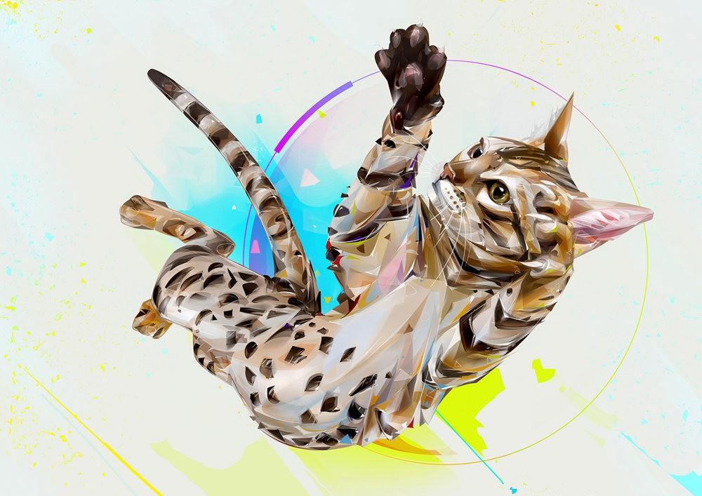 Denis Gonchar 的绘画作品_图1-4