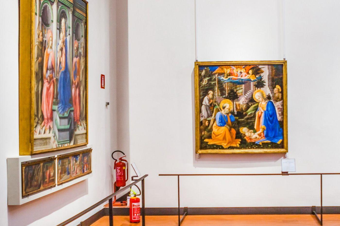 意大利佛罗伦斯乌菲兹美术馆, 藏品大展_图1-20