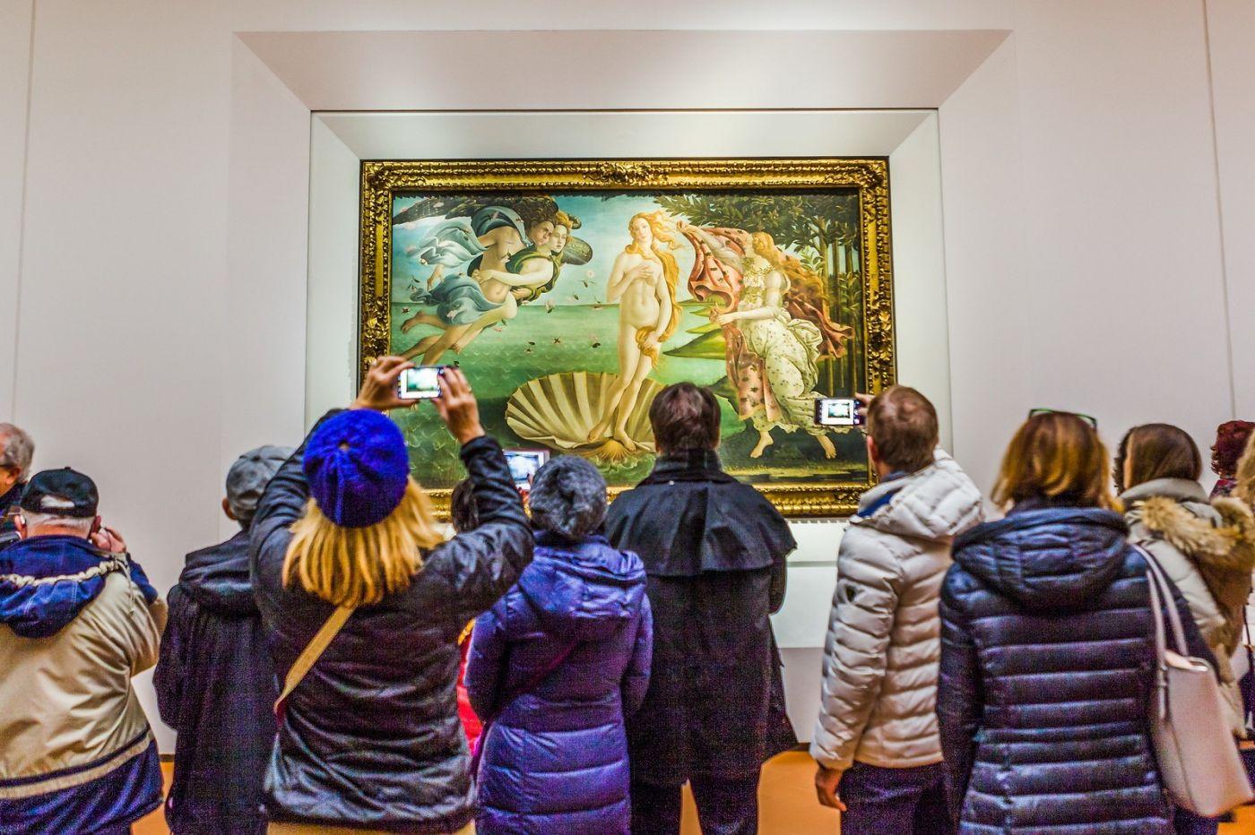 意大利佛罗伦斯乌菲兹美术馆, 藏品大展_图1-1