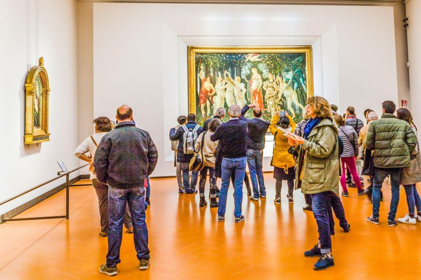 意大利佛罗伦斯乌菲兹美术馆, 藏品大展_图1-2