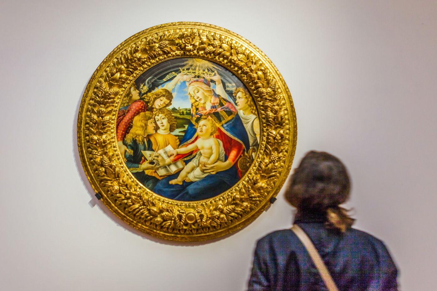 意大利佛罗伦斯乌菲兹美术馆, 藏品大展_图1-3