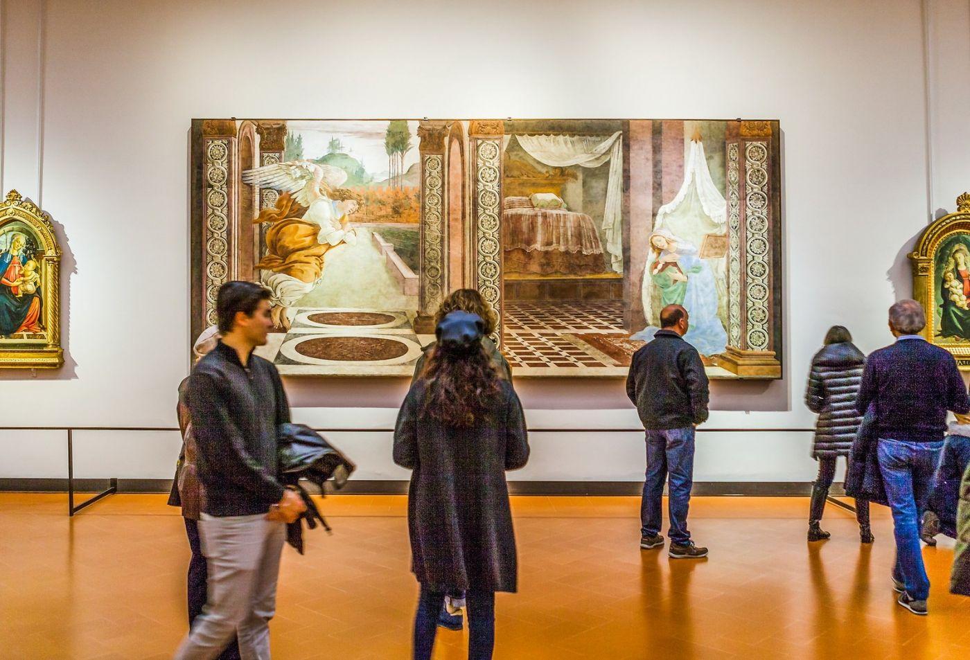意大利佛罗伦斯乌菲兹美术馆, 藏品大展_图1-5