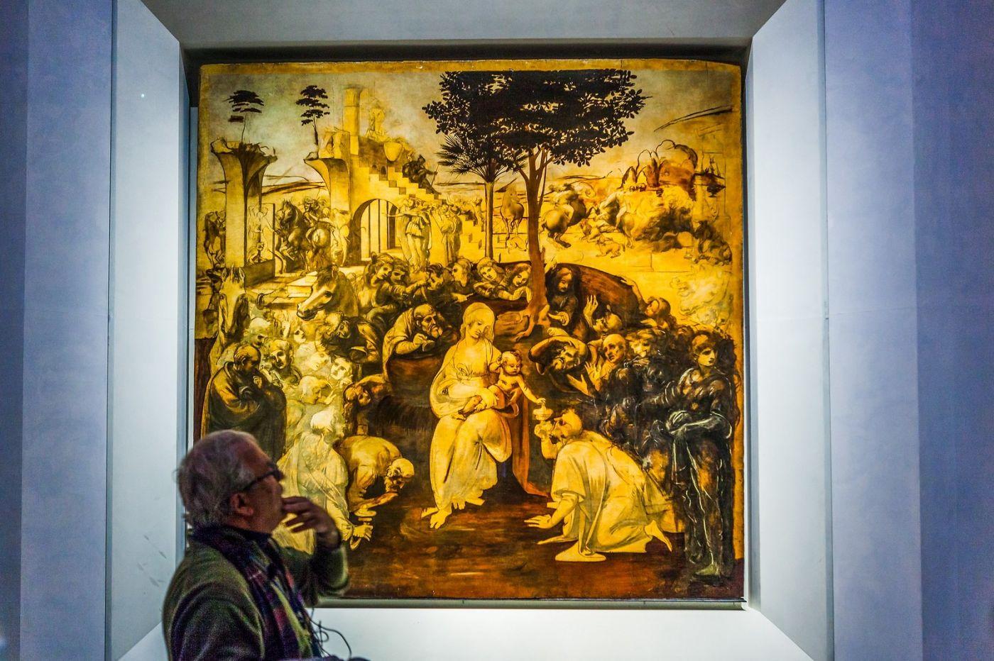 意大利佛罗伦斯乌菲兹美术馆, 藏品大展_图1-6