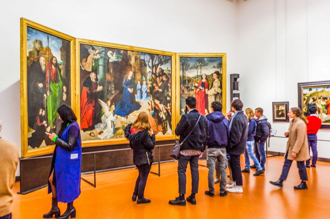 意大利佛罗伦斯乌菲兹美术馆, 藏品大展_图1-9