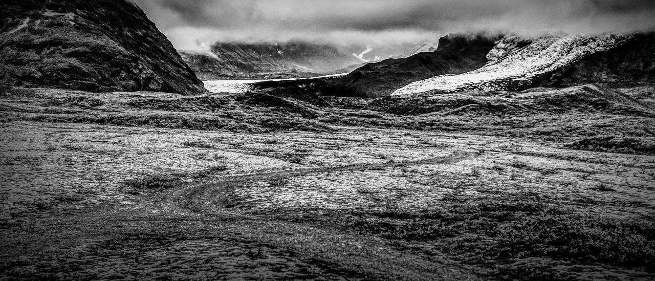 冰岛风采,隔窗望冰川_图1-4