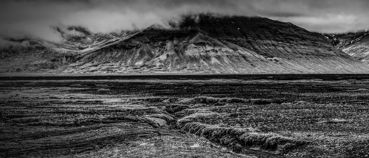 冰岛风采,隔窗望冰川