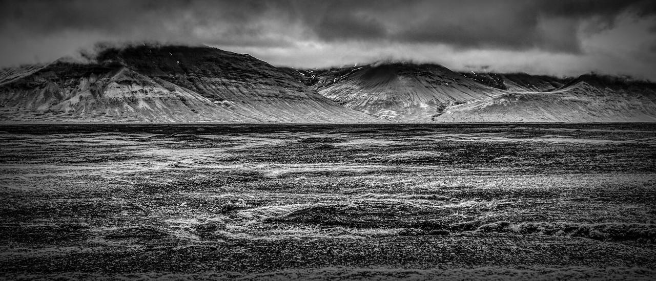 冰岛风采,隔窗望冰川_图1-3