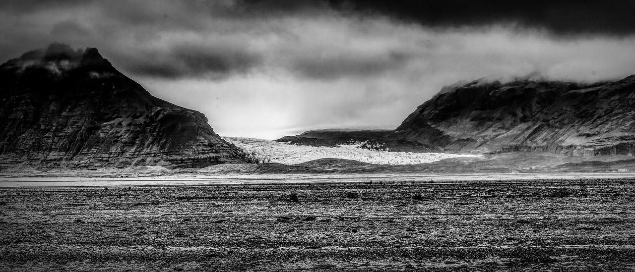 冰岛风采,隔窗望冰川_图1-9