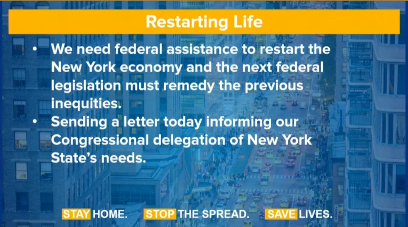 纽约州长库莫开始计划重启经济活动_图1-13