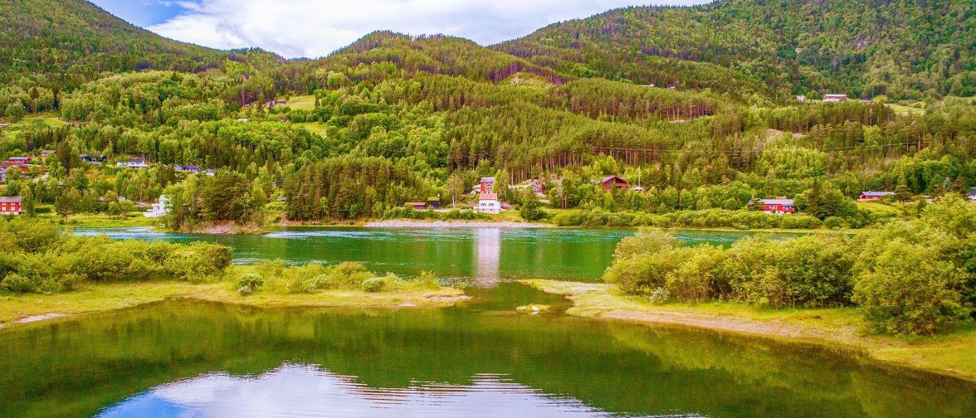北欧风光,秀丽山水_图1-9