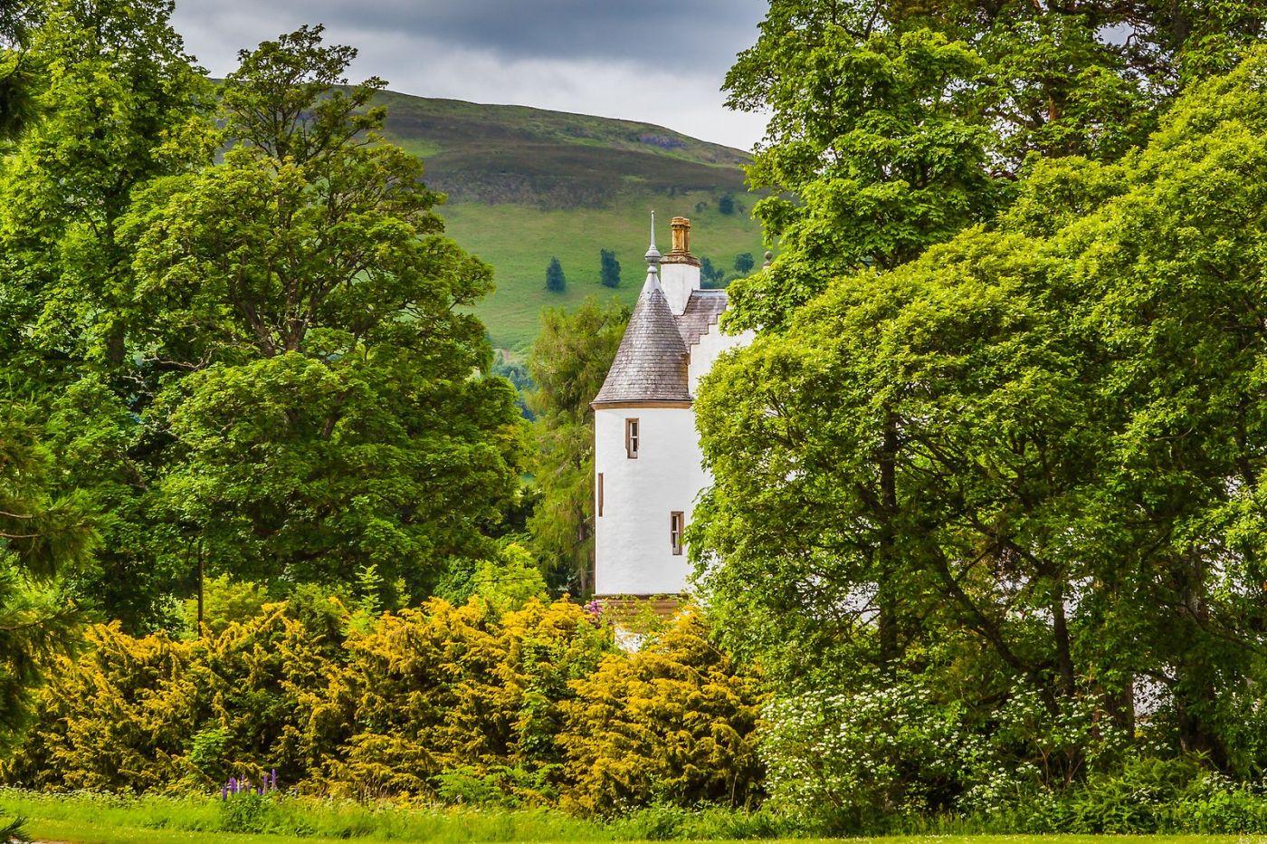 苏格兰布莱尔城堡(Blair Castle),环境优美_图1-10