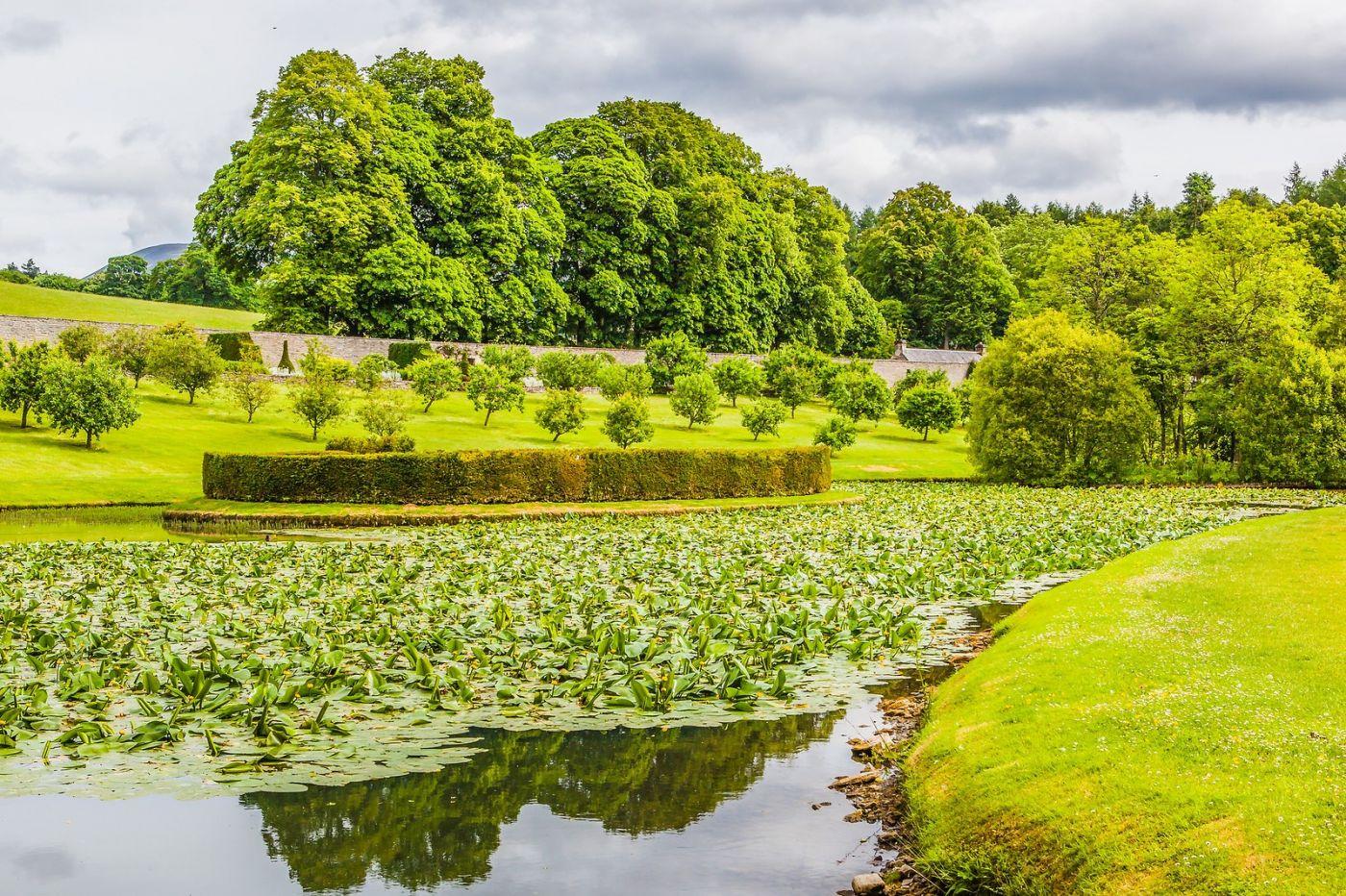 苏格兰布莱尔城堡(Blair Castle),环境优美_图1-8