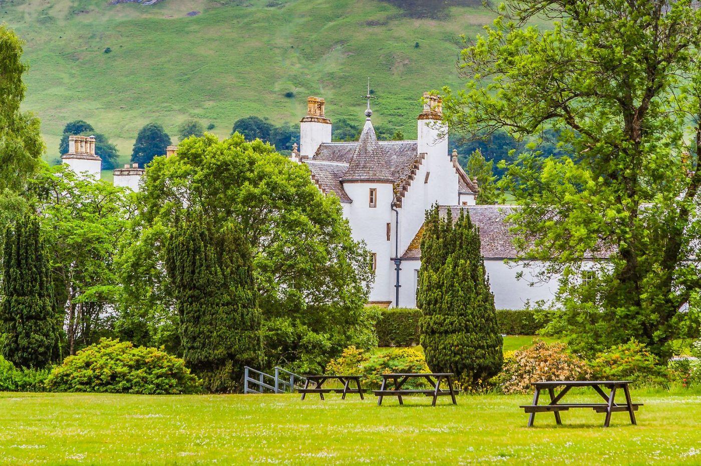苏格兰布莱尔城堡(Blair Castle),环境优美_图1-5