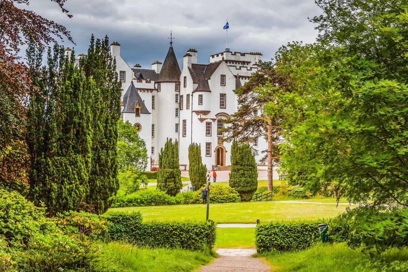 苏格兰布莱尔城堡(Blair Castle),环境优美_图1-1