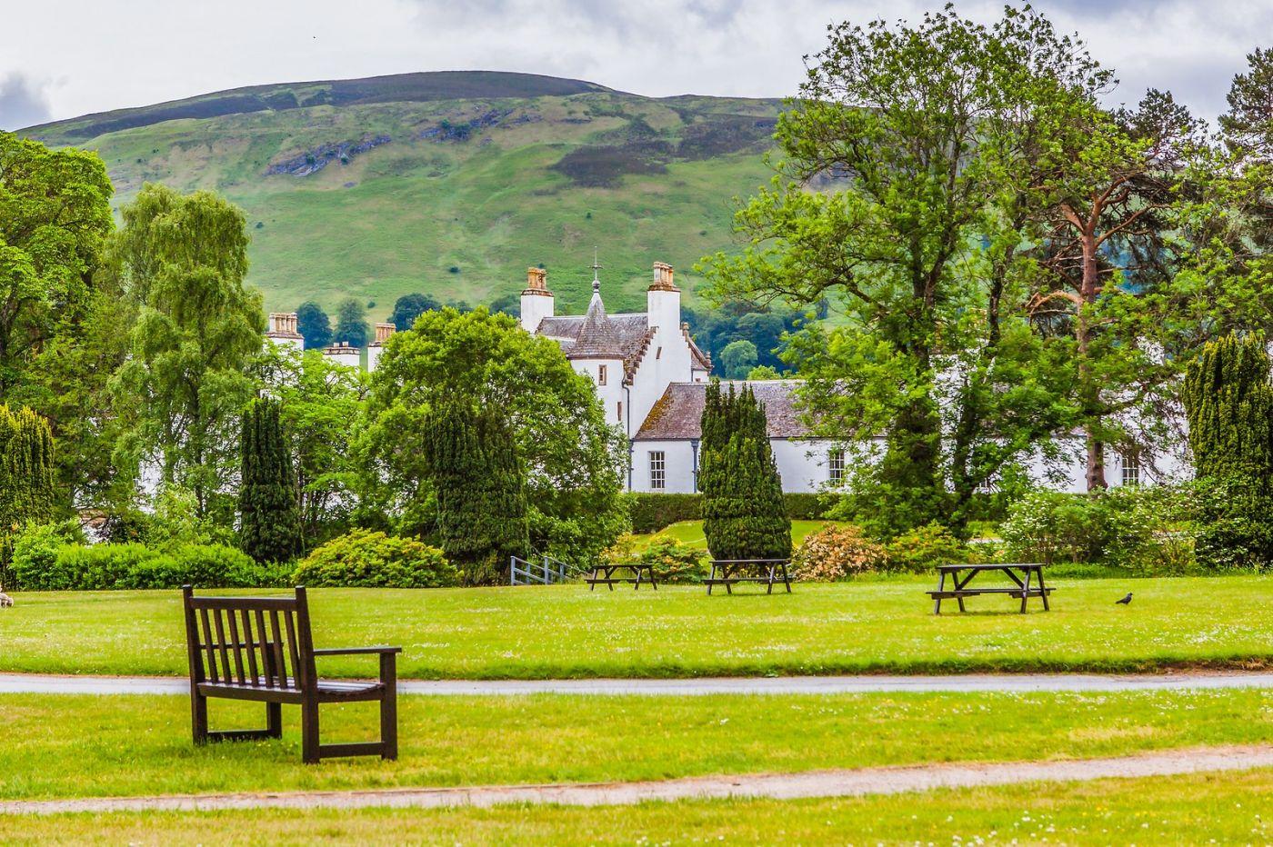 苏格兰布莱尔城堡(Blair Castle),环境优美_图1-4