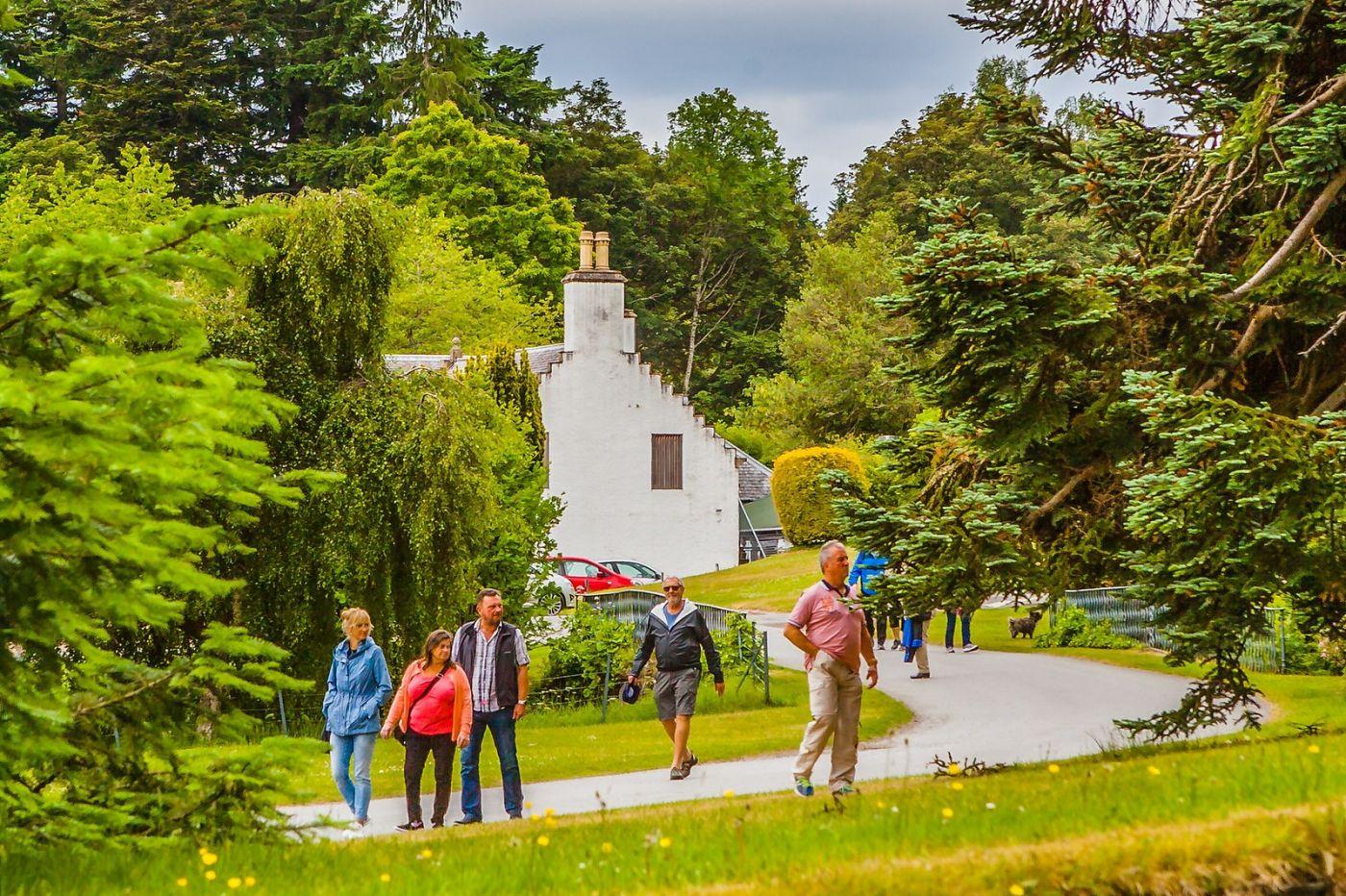 苏格兰布莱尔城堡(Blair Castle),环境优美_图1-16