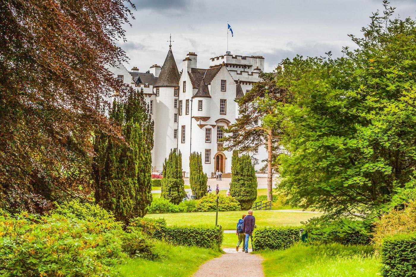 苏格兰布莱尔城堡(Blair Castle),环境优美_图1-18