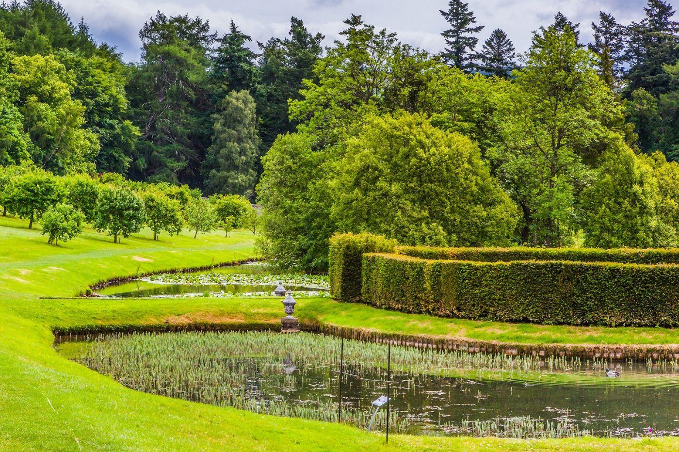 苏格兰布莱尔城堡(Blair Castle),环境优美_图1-20