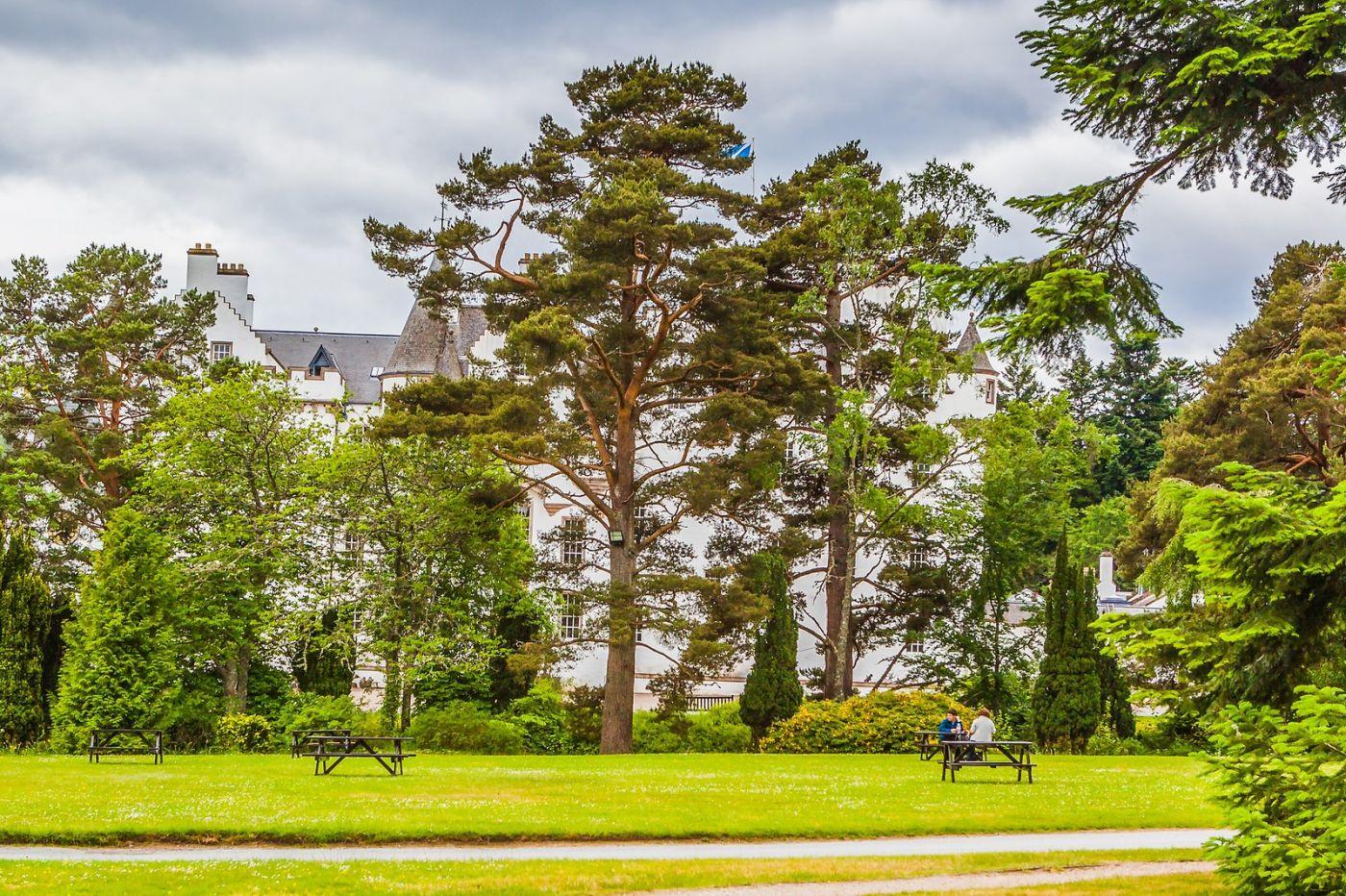 苏格兰布莱尔城堡(Blair Castle),环境优美_图1-26