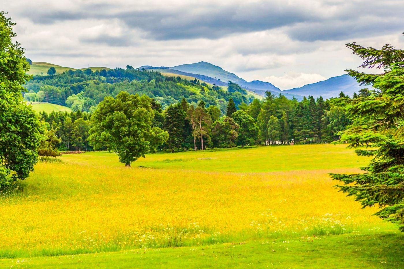 苏格兰布莱尔城堡(Blair Castle),环境优美_图1-30