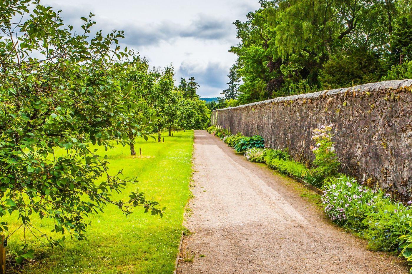 苏格兰布莱尔城堡(Blair Castle),环境优美_图1-33
