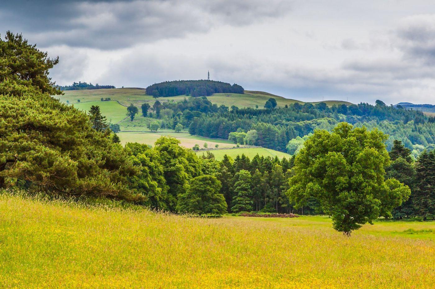 苏格兰布莱尔城堡(Blair Castle),环境优美_图1-35