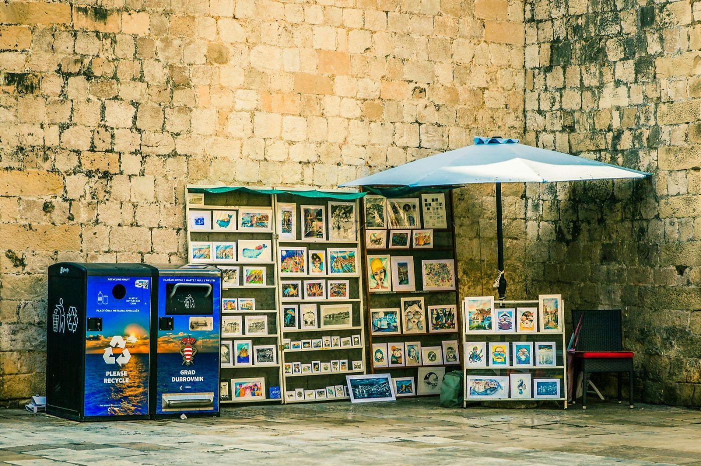 克罗地亚杜布罗夫尼克(Dubrovnik),古城小巷_图1-8