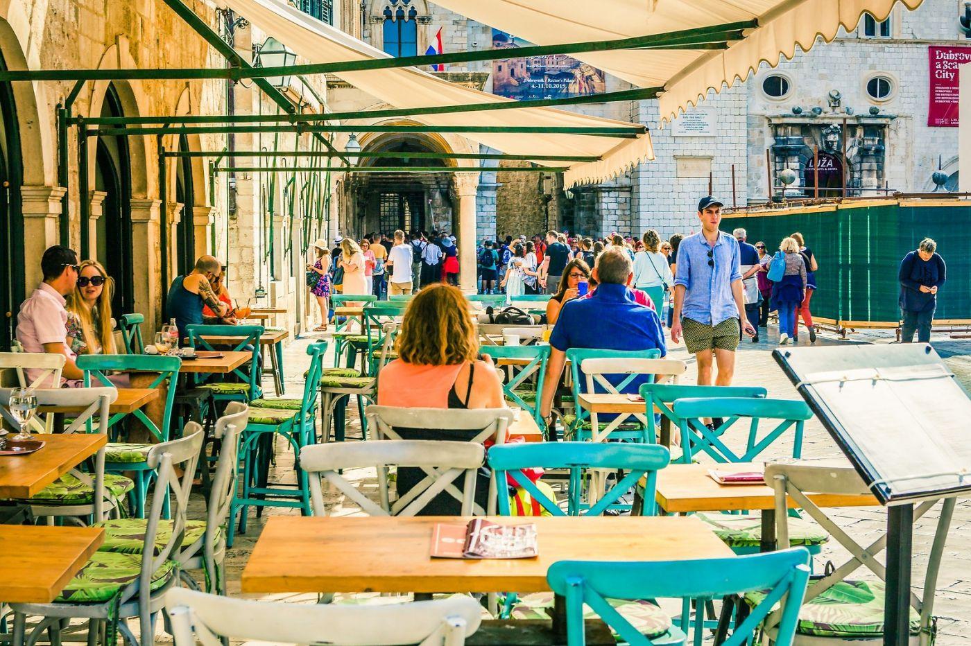 克罗地亚杜布罗夫尼克(Dubrovnik),古城小巷_图1-6