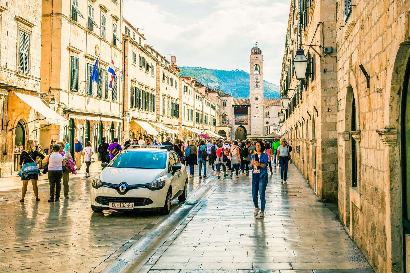 克罗地亚杜布罗夫尼克(Dubrovnik),古城小巷_图1-7