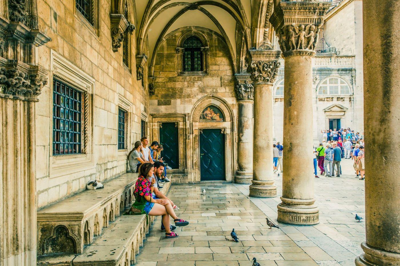 克罗地亚杜布罗夫尼克(Dubrovnik),古城小巷_图1-3