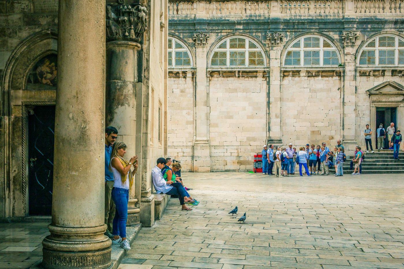 克罗地亚杜布罗夫尼克(Dubrovnik),古城小巷_图1-9