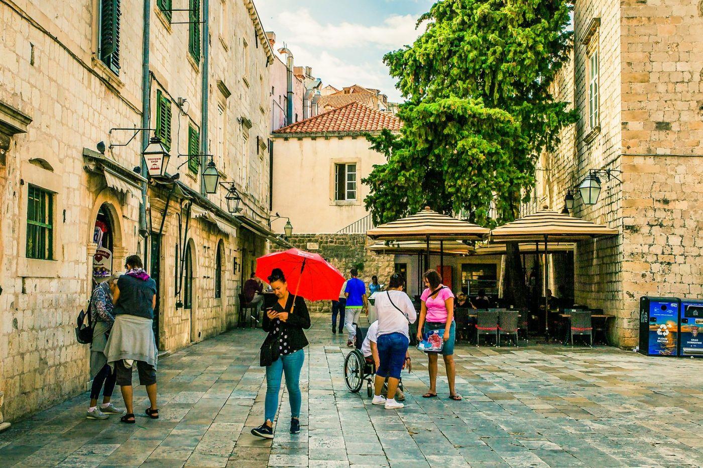 克罗地亚杜布罗夫尼克(Dubrovnik),古城小巷_图1-10