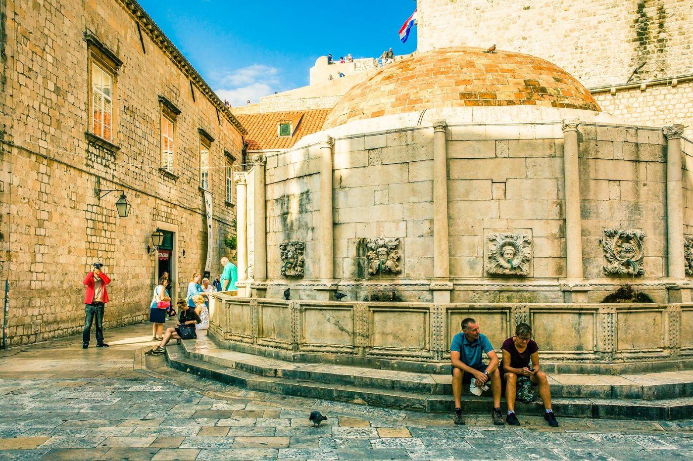 克罗地亚杜布罗夫尼克(Dubrovnik),古城小巷_图1-11