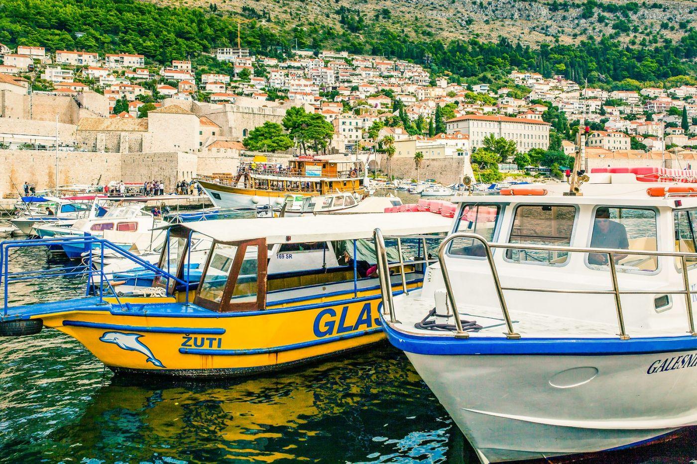 克罗地亚杜布罗夫尼克(Dubrovnik),古城小巷_图1-16