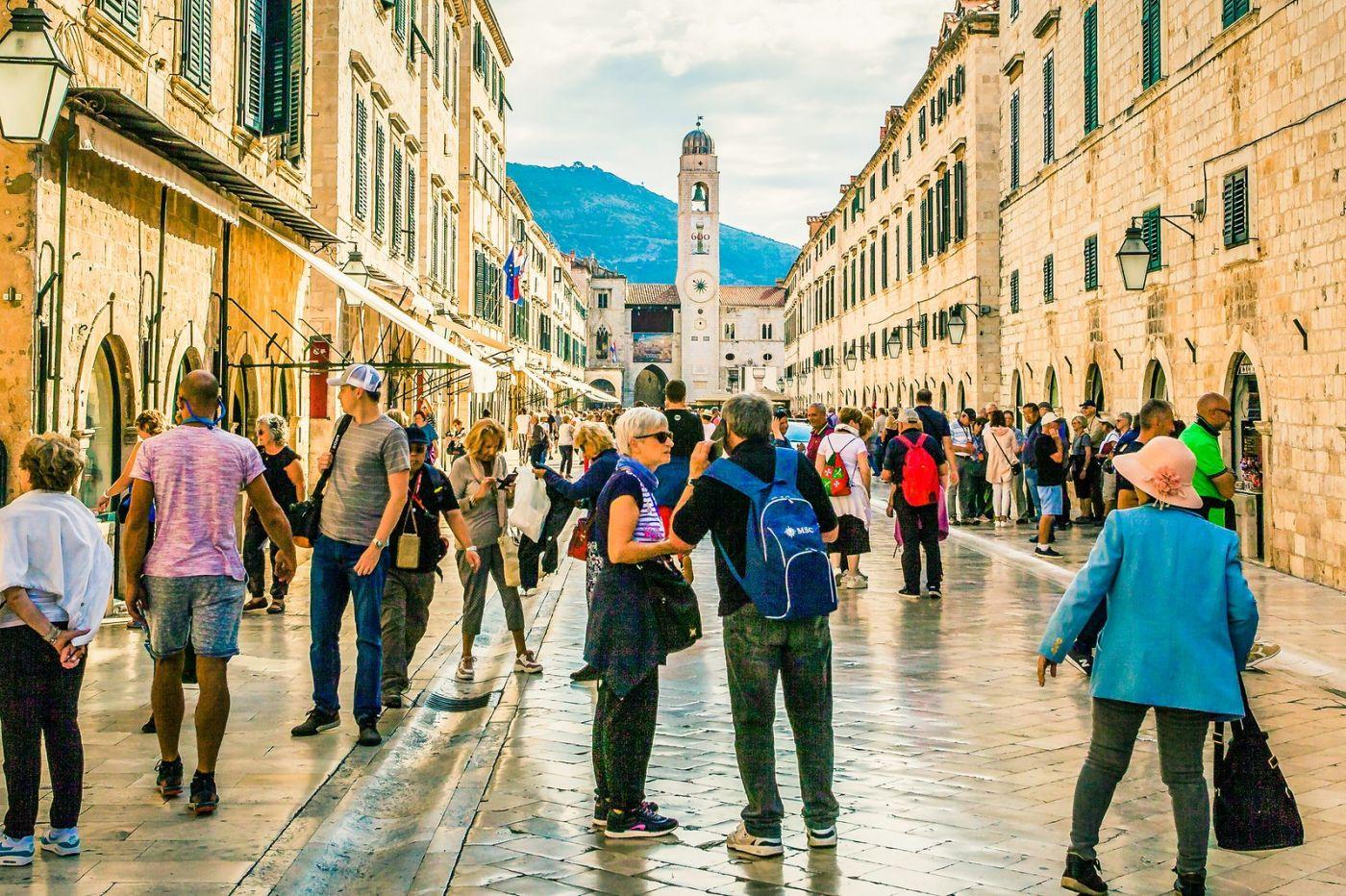 克罗地亚杜布罗夫尼克(Dubrovnik),古城小巷_图1-14