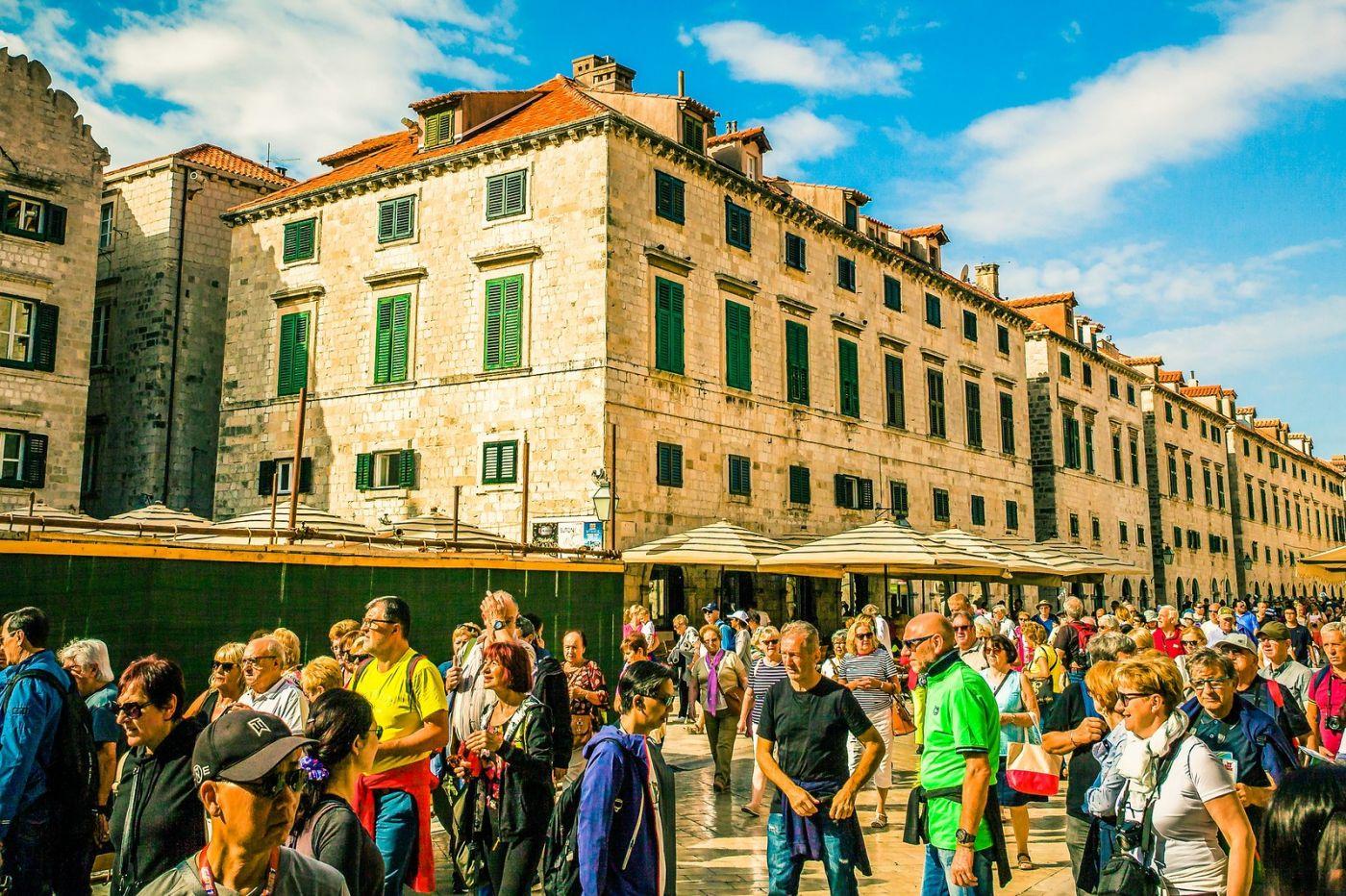 克罗地亚杜布罗夫尼克(Dubrovnik),古城小巷_图1-17