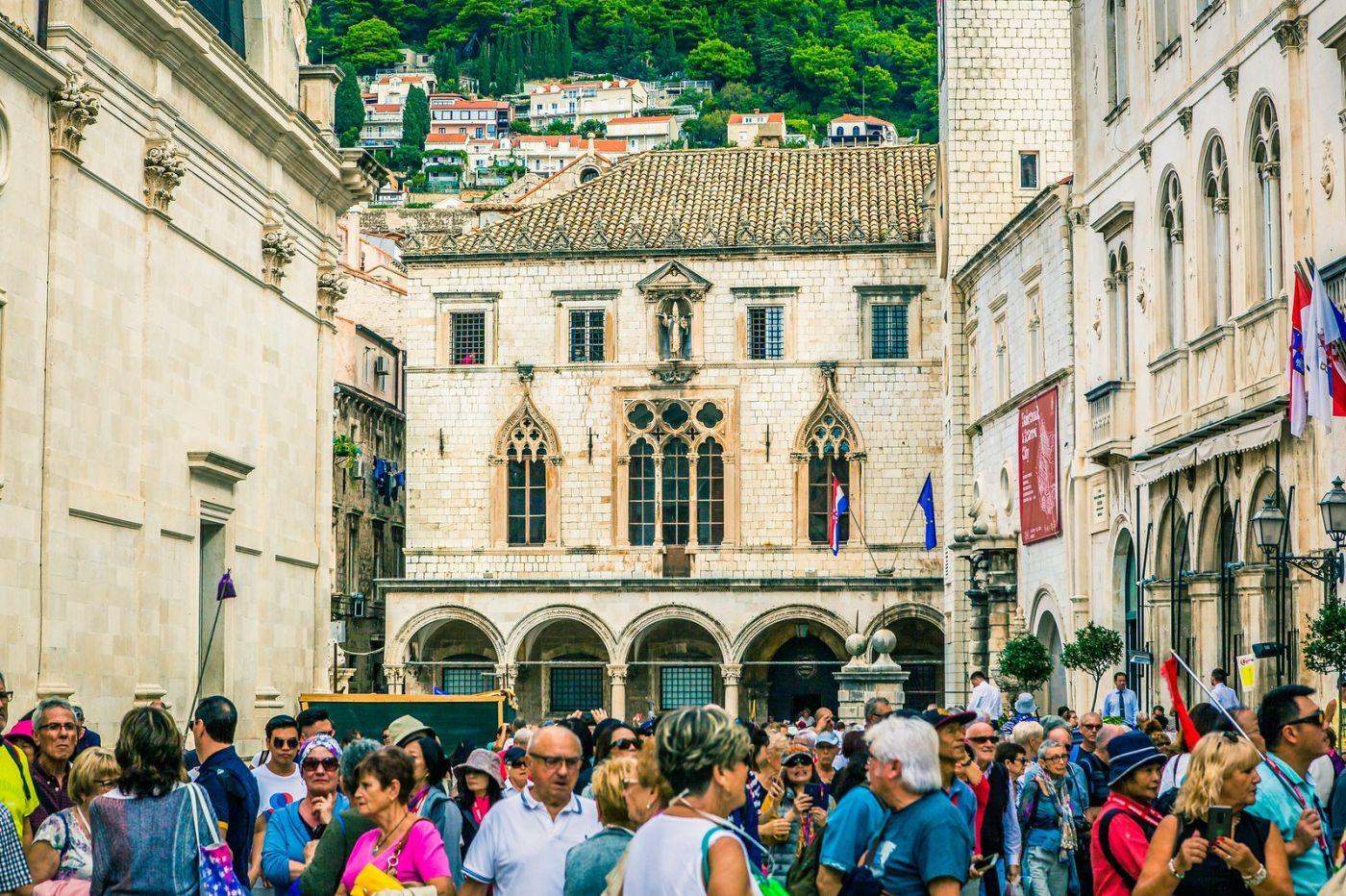 克罗地亚杜布罗夫尼克(Dubrovnik),古城小巷_图1-13
